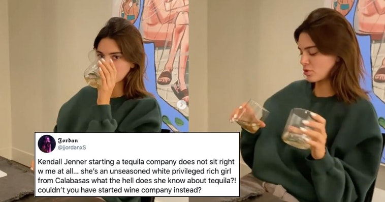 kendall jenner tequila, kendall jenner tequila backlash