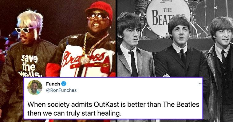 outkast vs the beatles debate