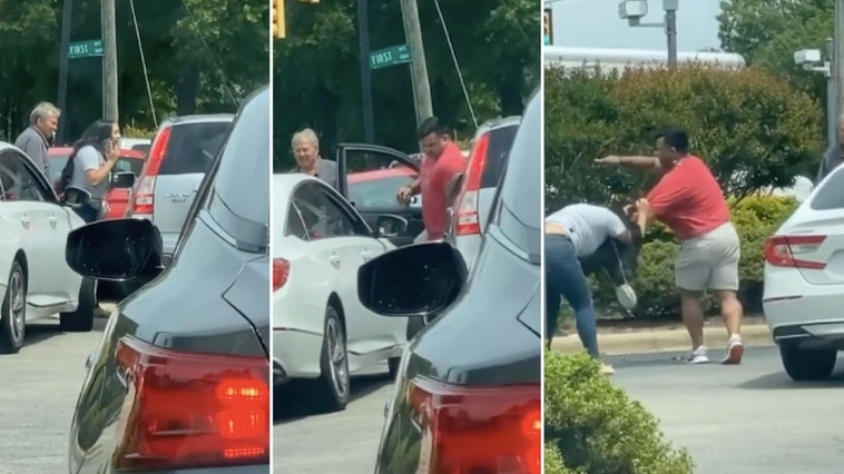 north carolina gas station fight