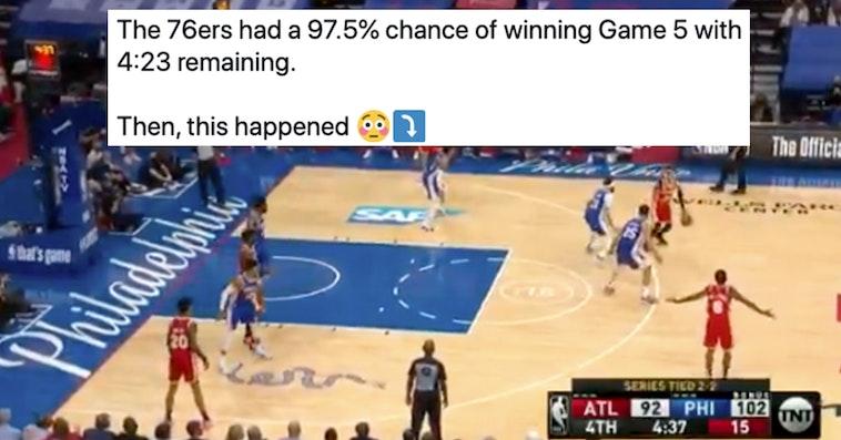 76ers hawks game 5