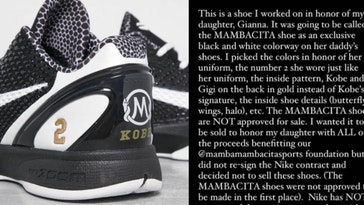 Vanessa Bryant Says Nike Is Selling Mambacita Shoes Without Consent