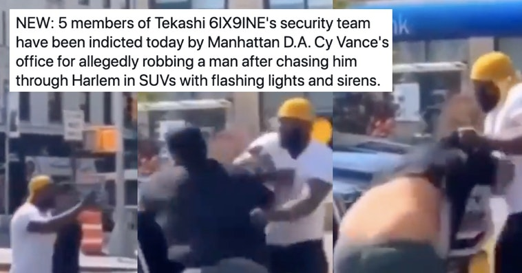 Tekashi69's Security Guards Charged For Destroying Fan's Phone After Wild Car Chase