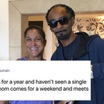 A Snoop Dogg Impersonator Ended Up Embarrassing An L.A. Fan And His Mom On Twitter