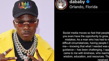 dababy apologizes, dababy lollapalooza, dababy governor's ball, dababy questlove