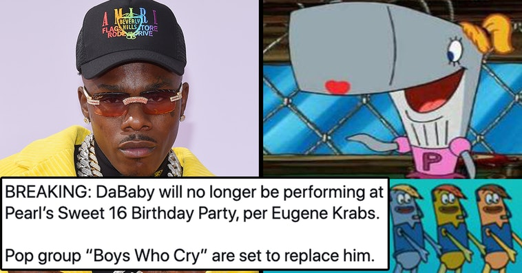 dababy will no longer be performing, dababy will no longer be performing meme