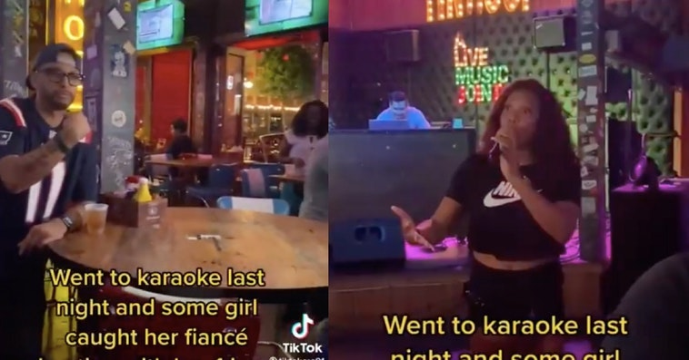 karaoke cheating say my name