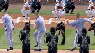conor mcgregor first pitch